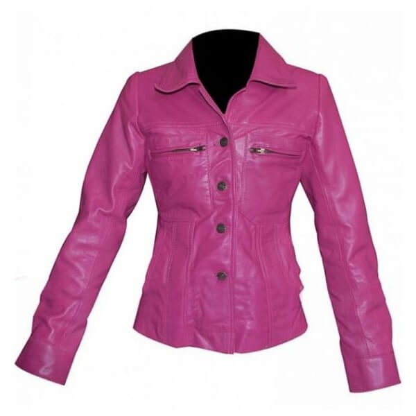 Alexandra Daddario Sea of Monsters Pink Jacket