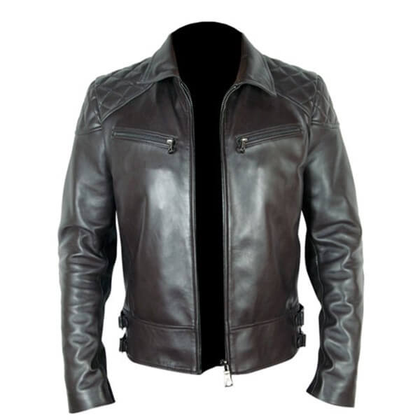 Arnold Schwarzenegger Terminator 5 Leather Jacket