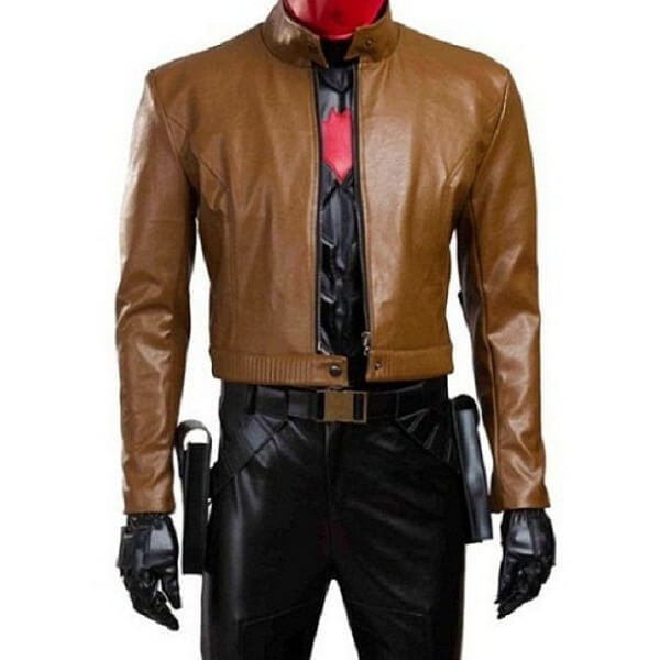 Batman Under The Red Hood Jason Todd Jacket
