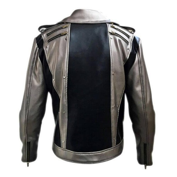 Black & Silver Leather Jacket from X-Men Apocalypse