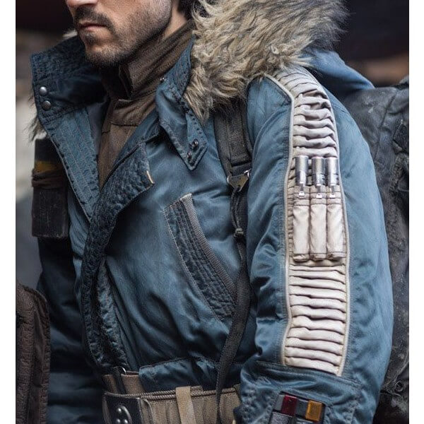 Captain Cassian Parka Style Jacket From Star Wars
