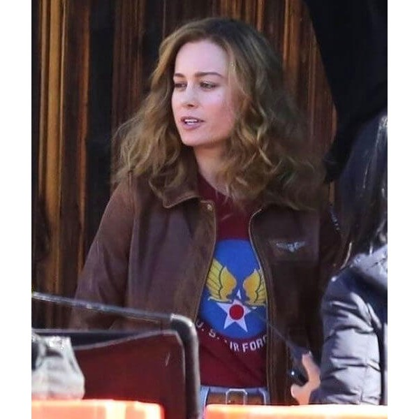 Carol Danvers Captain Marvel Flight Bomber Jacket