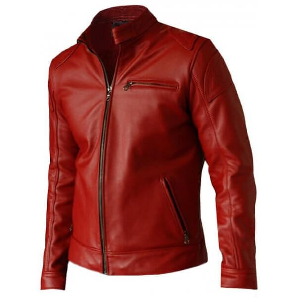 Casual Men's Leather Jacket Update