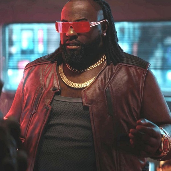 Cyberpunk 2077 Dexter DeShawn Brown Leather Vest