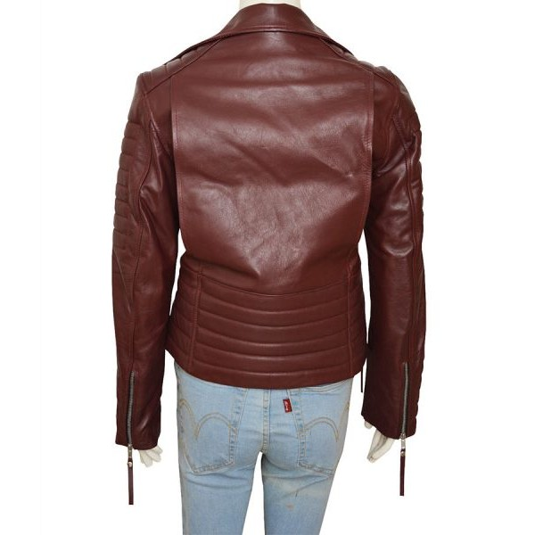 Detective Rosa Diaz Leather Jacket Brown from Brooklyn 99