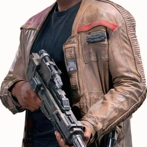 Finn Leather Jacket From Star Wars: The Force Awaken