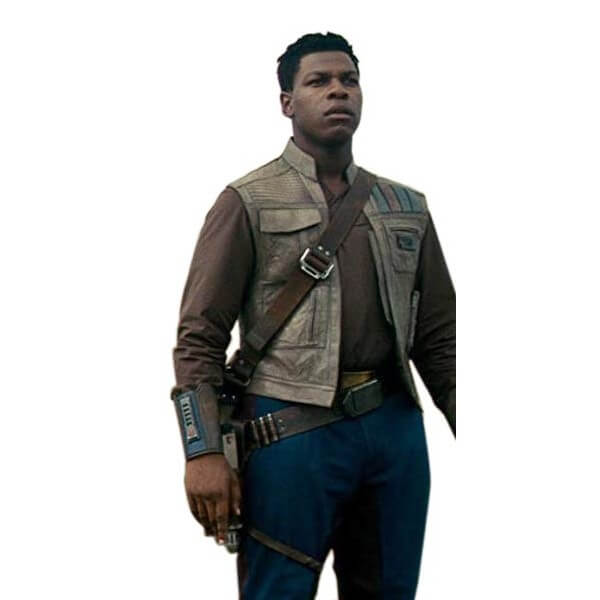 Finn Leather Vest Rise Of The Skywalker Star Wars