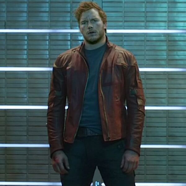 Guardians of the Galaxy Star-Lord Leather Jacket