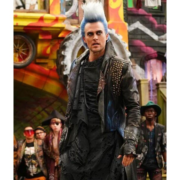 Hades Leather Coat from Descendants 3