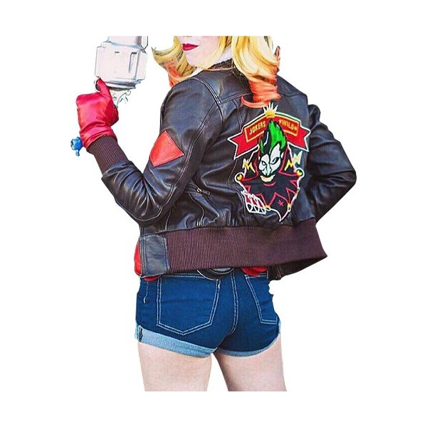 Harley Quinn - Bombshell Leather Jacket