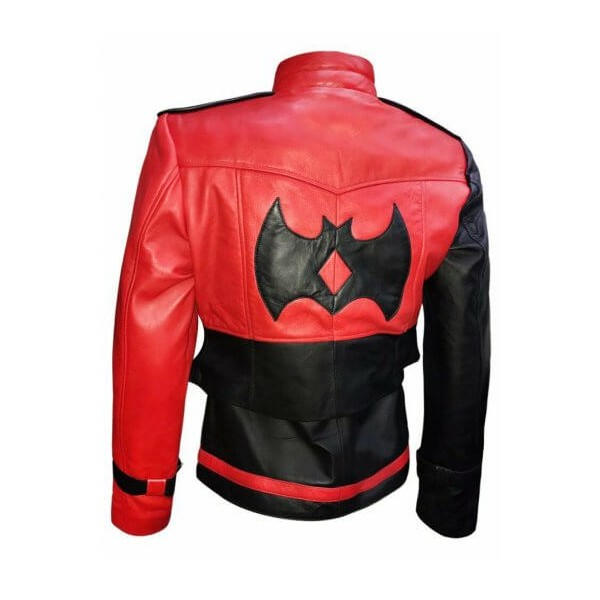 Harley Quinn - Injustice 2 Leather Vest with Jacket