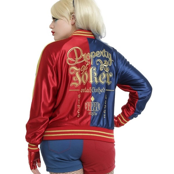 Harley Quinn - Official Suicide Squad Leather Jacket