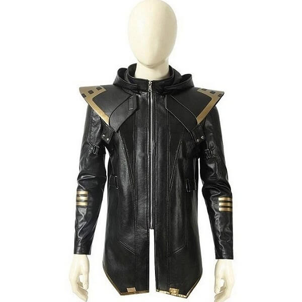 Hawkeye Leather Jacket Avengers Endgame