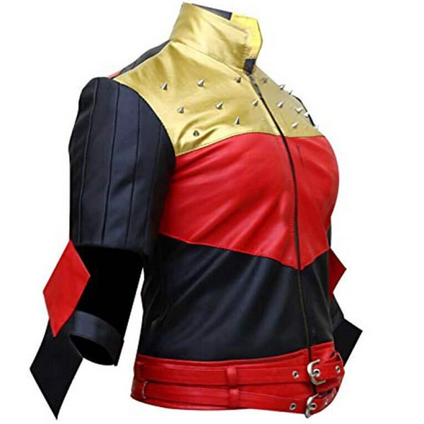 Injustice Gods Among Us Harley Quinn Leather Jacket