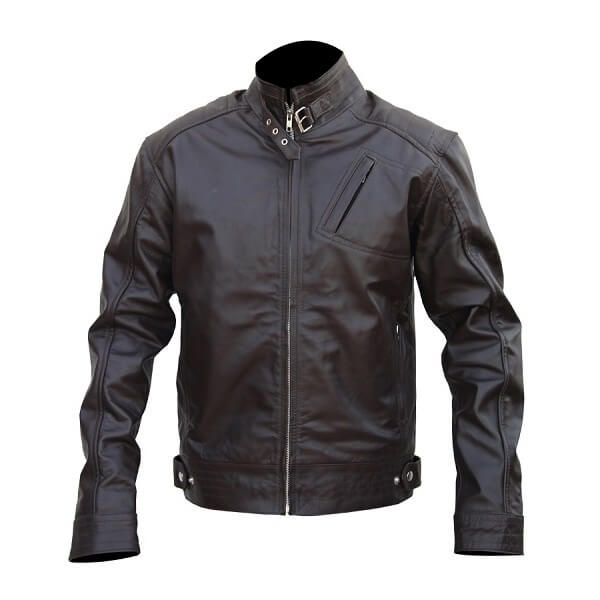 Jeremy Renner Leather Jacket From The Bourne Legacy Movie