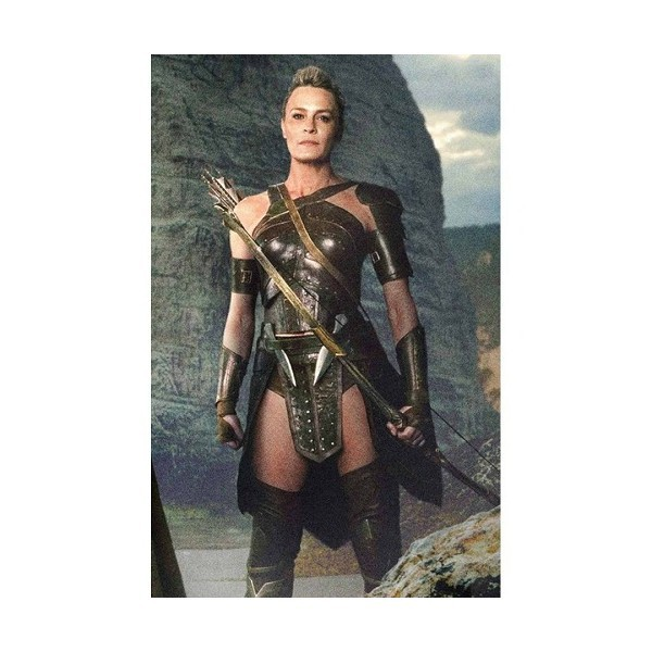 Justice League Antiope Corset in Leather