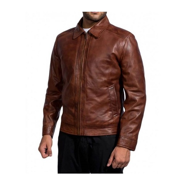 Keanu Reeves Simple Brown Jacket from John Wick Movies