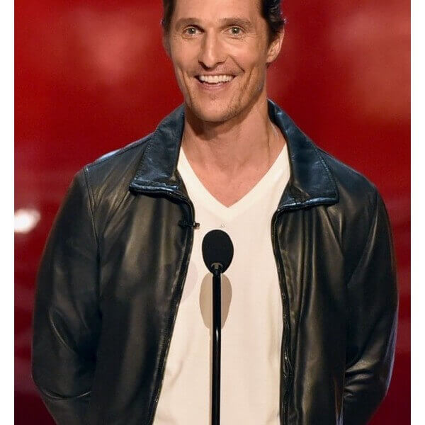 Matthew McConaughey Jacket From (2014 Awards)