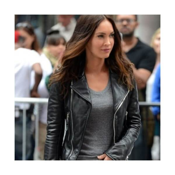Megan Fox Leather Jacket From Teenage Mutant Ninja Turtles 2