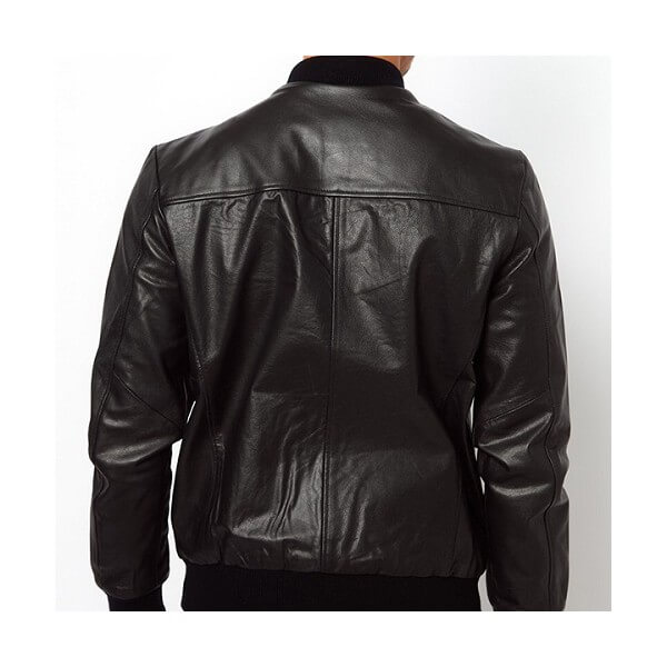 Men's Selected Baseball Leather Jacket
