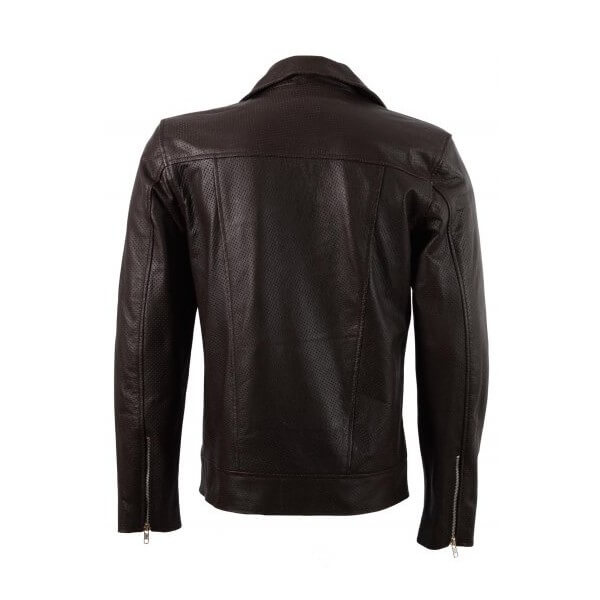 Men's Summer Season Leather Motorcycle Jacket