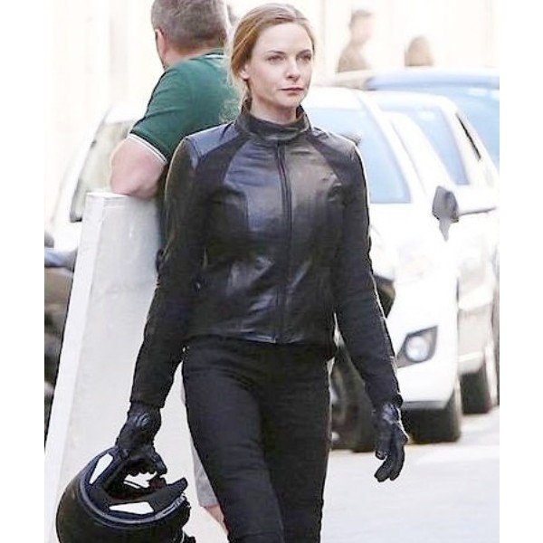 Mission Impossible 6 - Slim Fit Black Leather Jacket For Women