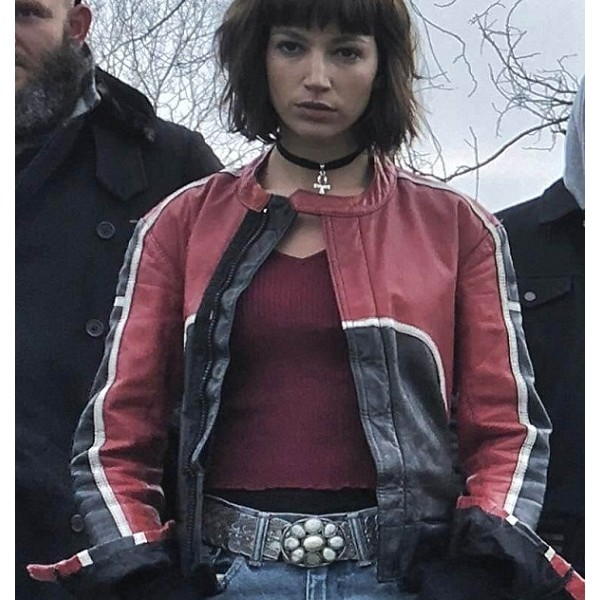 Money Heist Cafe Racer Tokio Leather Jacket