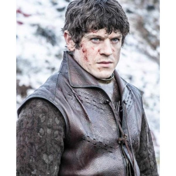 Ramsay Bolton Brown Sleeveless Leather Vest