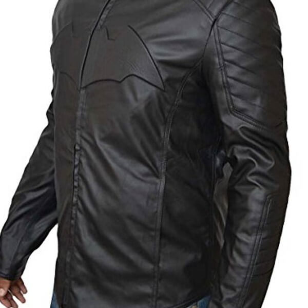 Reversible Batman V Superman Leather Jacket