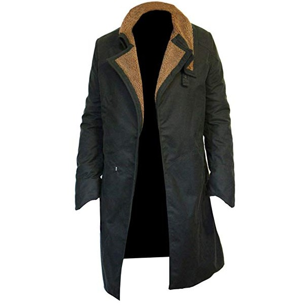 Ryan Gosling Shearling Collar Coat from Blade Runner 2049