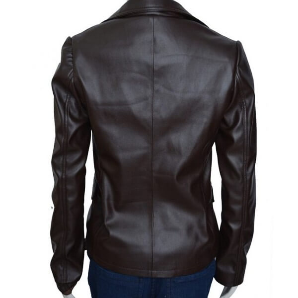 Scarlett Johansson Captain America Leather Jacket