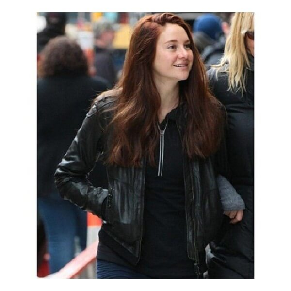 Shailene Woodley From Amazing Spider-Man 2 Leather Jacket
