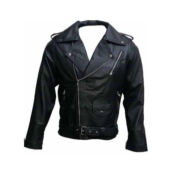Southside Serpents Black Unisex Leather Jacket from Riverdale