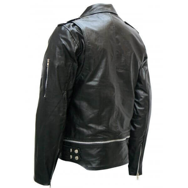 Stylish Leather Jacket for Men Black