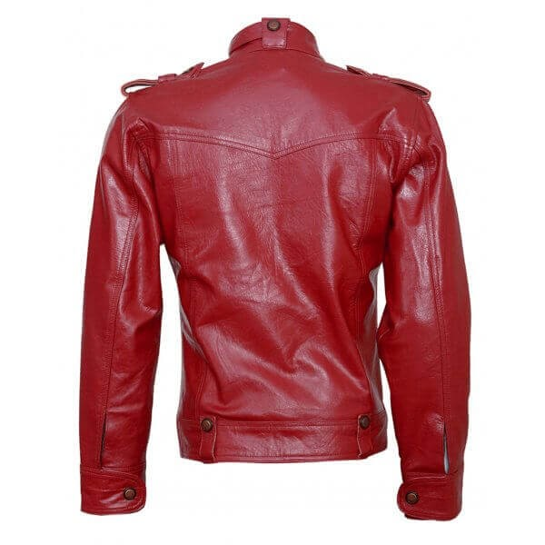 Tailored Fit Men's Wear Leather Jacket