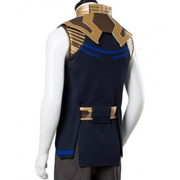 Thanos Black and Golden Vest Avengers Infinity War