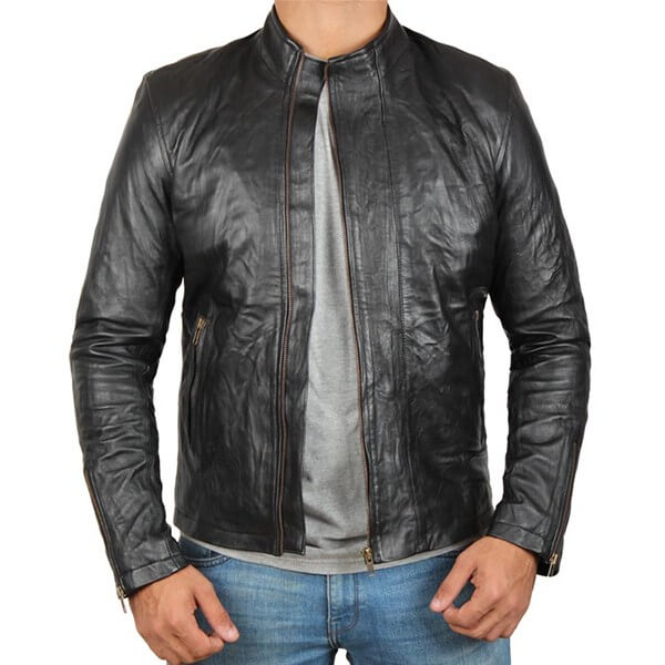Tom Cruise Leather Jacket from Mission Impossible Rogue Nation
