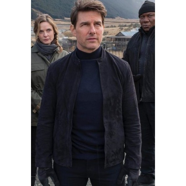 Tom Cruise - Mission Impossible 6 Suede Leather Jacket