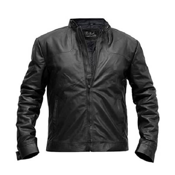 Tom Cruise Mission Impossible Black Biker Jacket