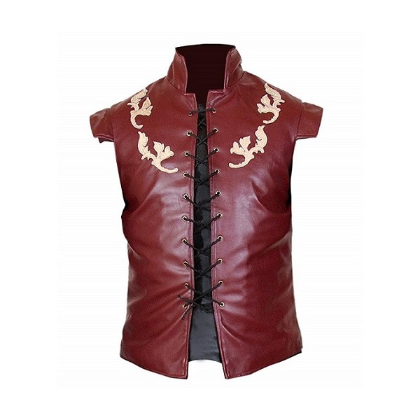 Tyrion Lannister Burgundy Sleeveless Vest from GoT