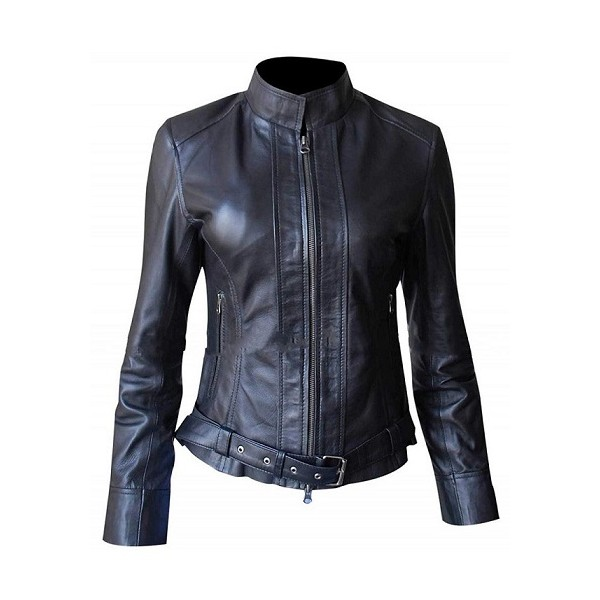 Women's Biker Gemma Teller Morrow Leather Jacket