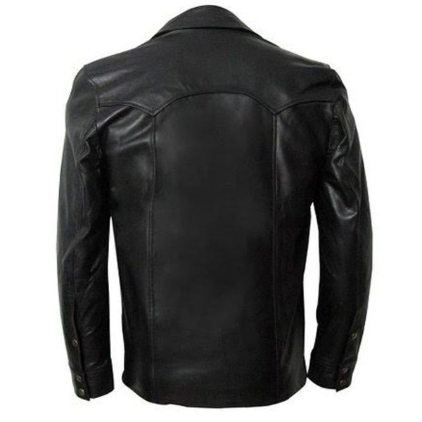 Worn David Leather Jacket From The Walking Dead TV Series