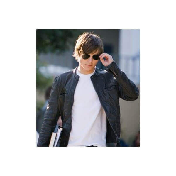 Zac Efron Leather Jacket From 17 Again Comedy Movie