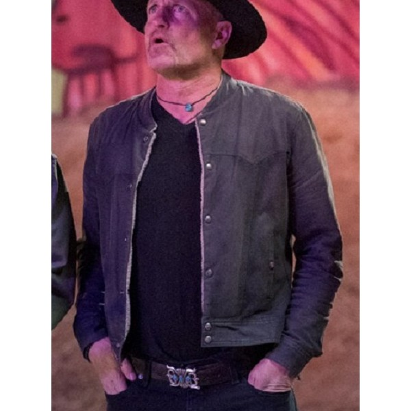 Zombieland Double Tap Woody Harrelson Leather Jacket
